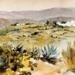 Delacroix 1832 environs de tanger