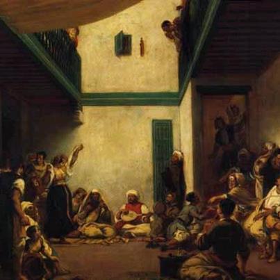 Delacroix 1841 La noce Juive
