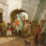 Delacroix 1869 feast