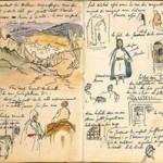 Delacroix Cahier de notes de tanger