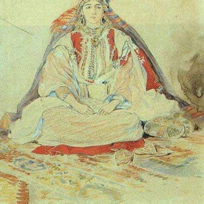 Delacroix Mariee Juive