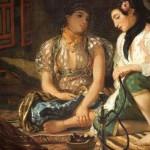 Delacroix femme de tanger