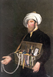 Moroccan Jewish Peddler in London  1800
