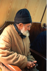 Old man fo Morocco