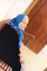 Old Moroccan woman