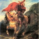 delacroix arab horseman 1832